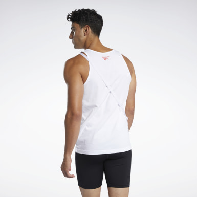 Training White Reebok Pride Tank Top