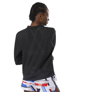 Blusa Perforated Crew