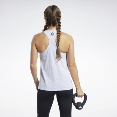 Dam Cross Training Grå Reebok CrossFit® Tank Top