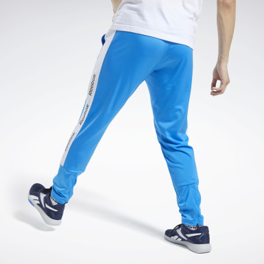Men Fitness & Training Blue Training Essentials Track Pants