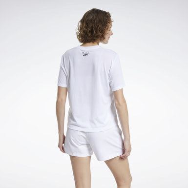 CL TEE (REE)CYCLE Blanco Mujer Classics