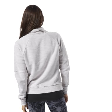 Jersey TE Marble Funnel Neck