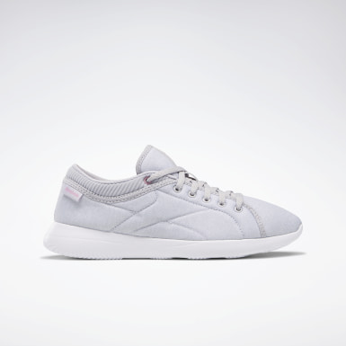 Women Walking Grey Reebok Runaround Women's Shoes