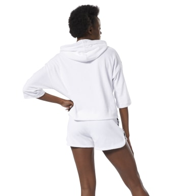 Women Fitness & Training White WOR Meet You There Terry Hoodie