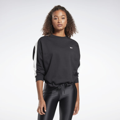 Women Studio Black Sweatshirt