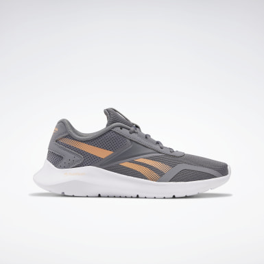 Women Running Grey Reebok Energylux 2 Women's Running Shoes