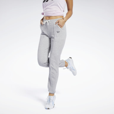 Pantalón Training Essentials Gris Mujer Fitness & Training