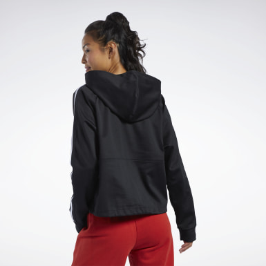 Sudadera Workout Ready Negro Mujer Fitness & Training