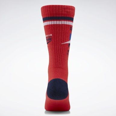 Classics Red Classics Graphic IA Crew Socks