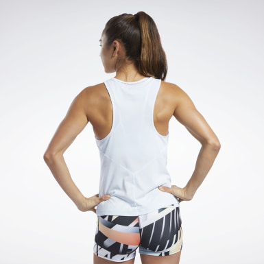 Dam Cross Training Blå Reebok CrossFit® ACTIVCHILL+COTTON Tank Top