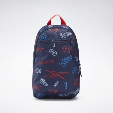 Barn Classics Blå Allover Print Backpack Small