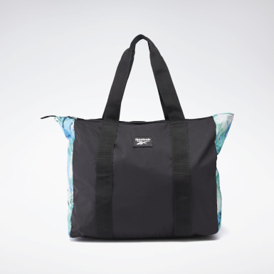 Borsa Tech Style Graphic Tote Nero Donna Fitness & Training