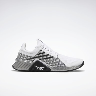 Men Fitness & Training White Flashfilm Trainer Shoes