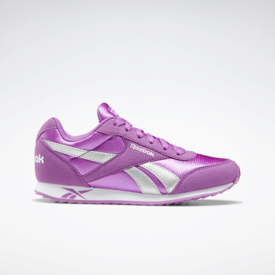 Kids Classics Purple Reebok Royal Classic Jogger 2 Shoes