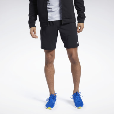 Men Cross Training Black Workout Ready Shorts