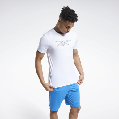 Men Fitness & Training White Workout Ready Graphic Tee