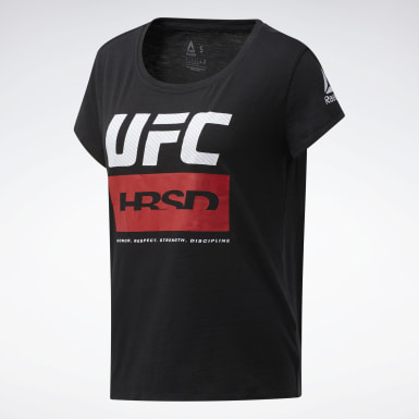 Women Combat Black UFC Fight Week Tee