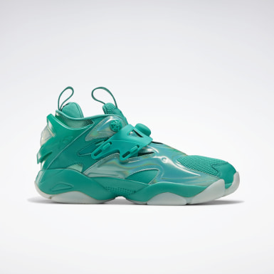 Classics Green Juun.J Pump Court Shoes
