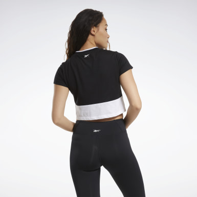 Camiseta Training Essentials Linear Logo Negro Mujer Dance