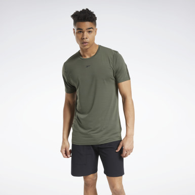 Men Training Green ACTIVCHILL Move Tee