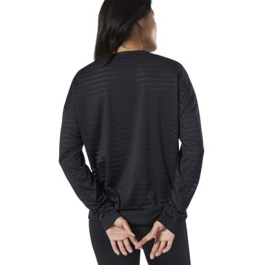 Studio Mesh Long-Sleeve T-Shirt