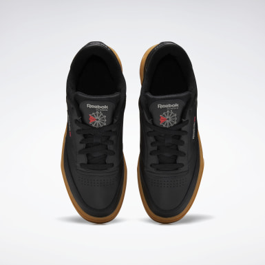 Classics Black Club C Stacked Shoes