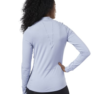 фиолетовый Лонгслив One Series Running Thermowarm Quarter Zip