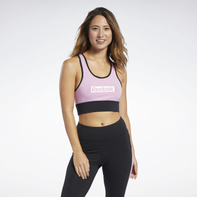 Top Deportivo Training Essentials Linear Logo Mujer Fitness & Training