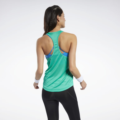 Frauen Fitness & Training Mesh Back Tanktop