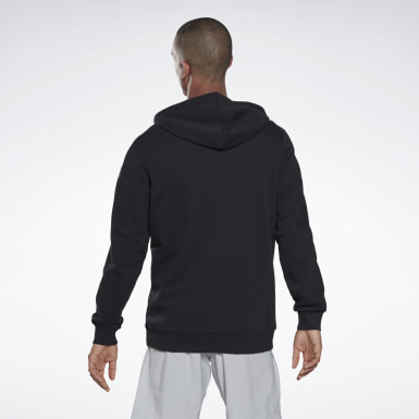 Men Fitness & Training Black Training Essentials Logo Hoodie