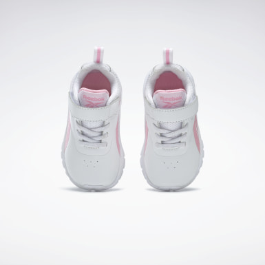Kids Running White Reebok Rush Runner 3 Shoes