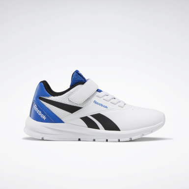 Boys Running White Reebok Rush Runner 2.0 Shoes