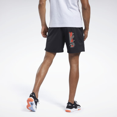 Herr Cross Training Svart Reebok CrossFit® Hybrid Shorts