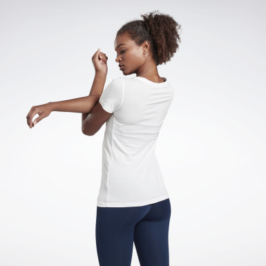 Women Training White Training Essentials Graphic Tee