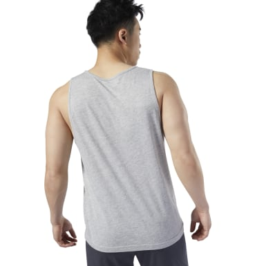 Men Studio Grey LES MILLS® Graphic Tank Top