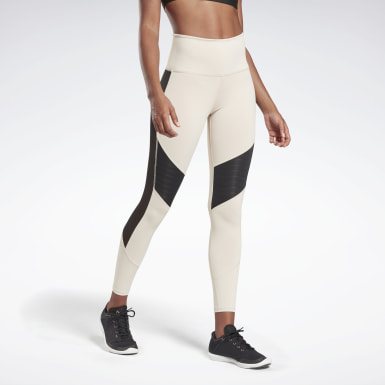 Women Studio Beige LES MILLS® Tights
