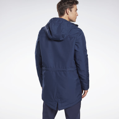 синий Парка Outerwear Urban Fleece