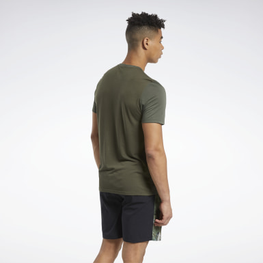 Men Fitness & Training Green Actron Tee