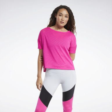 Women Fitness & Training Perforated Tee