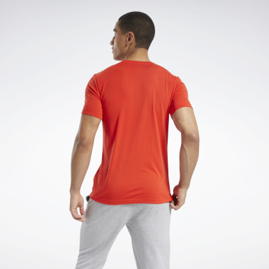 Men Yoga Red Graphic Series Speedwick Tee