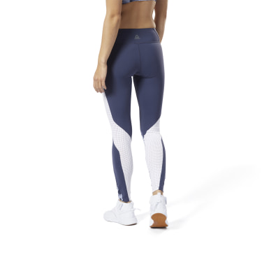 Women Studio Blue LES MILLS®  Lux Tights 2.0