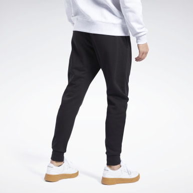 Men Classics Black Classics Vector Joggers