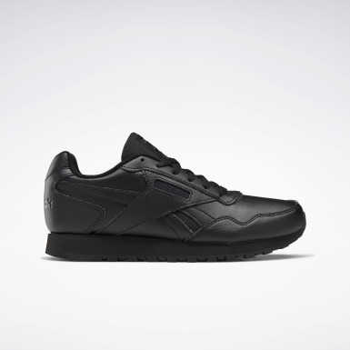 Women Classics Black Reebok Classic Harman Run Women's Shoes