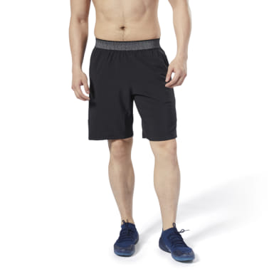 Men Studio Black LES MILLS® Speedwick Speed Shorts