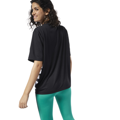 Women Classics Black Classics Advance Tee