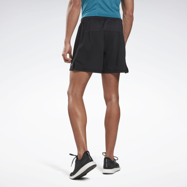 Shorts Running Essentials 2 en 1 Negro Hombre Correr