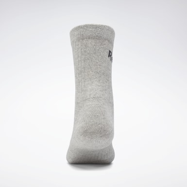 City Outdoor Grey Active Core Crew Socks 3 Pairs