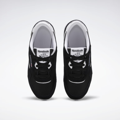 Boys Classics Black Classic Nylon Shoes - Preschool