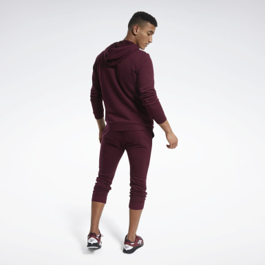 Männer Fitness & Training Training Essentials Linear Logo Track Suit Weinrot