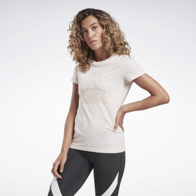 Remera Training Essentials Logo Blanco Mujer Fitness & Training